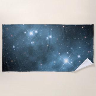 Fantasy Star Dust Beach Towel