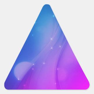 Fantasy Wave Triangle Sticker