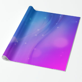 Fantasy Wave Wrapping Paper