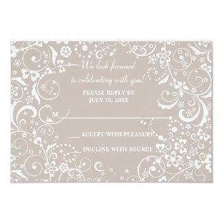 Fantasy Wedding Response Card