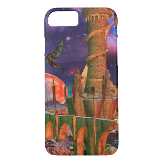 Fantasy Worlds Dragon Fight iPhone 8/7 Case