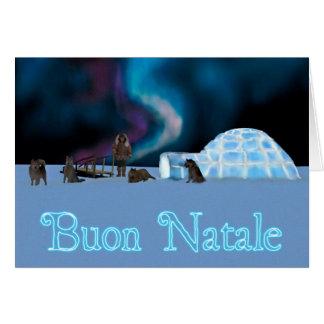 Far North Christmas - Buon Natale Card