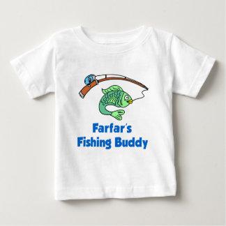 Farfar's Fishing Buddy Baby T-Shirt