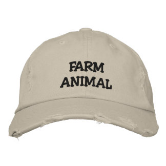 Farm Animal Chino Hat