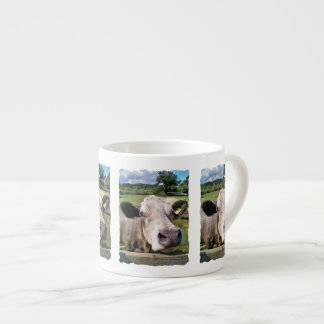 FARM ANIMALS,CUTE COW ESPRESSO MUG
