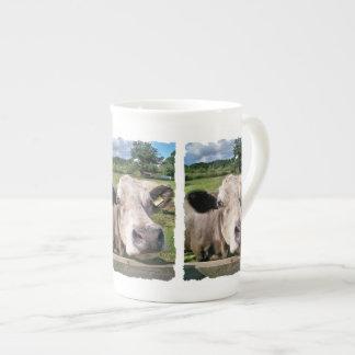 FARM ANIMALS,CUTE COW BONE CHINA MUG