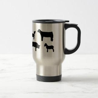 Farm Animals Travel Mug
