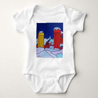 Farm Color Baby Bodysuit