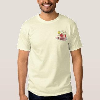 Farm Scene #1 Embroidered T-Shirt