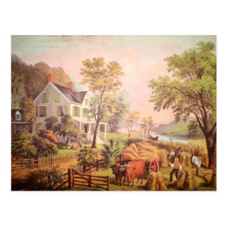 Farmer's Home Harvest Postcard