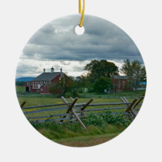 Farmhouse - Gettysburg National Park Pennsylvania Christmas Ornament