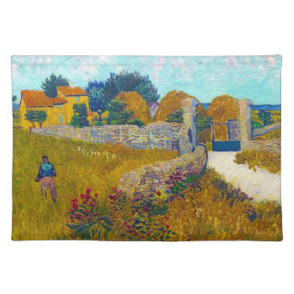 Farmhouse in Provence by Vincent Van Gogh Placemat