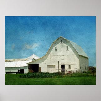 Farming in Iowa Poster