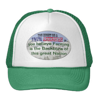 Farming the backbone of our nation mesh hat