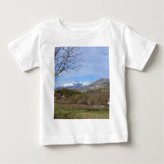 Farmland In Winter In Calabria Tees