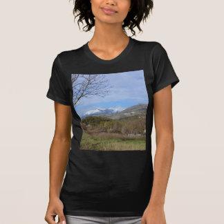 Farmland In Winter In Calabria T Shirt