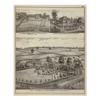 Farms and residences in Magnolia Poster