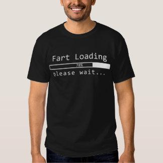 Fart Loading Please Wait Shirts