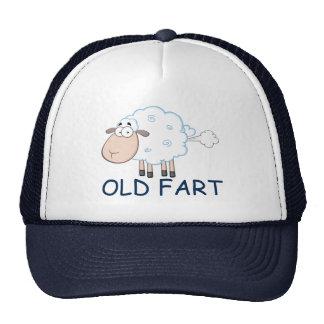 FARTING CARTOON SHEEP OLD FART HAT