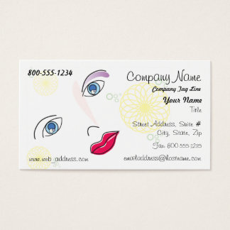 Fashion / Beauty Business Card