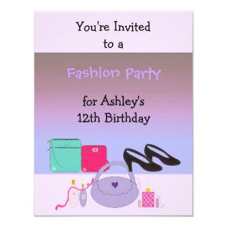 Fashion Birthday Party Invitation