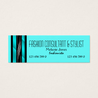 wardrobe stylist business cards