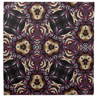 Fashion Crazy Keliedescope Printed Napkin