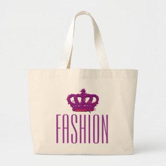 Fashion Crown Jumbo Tote