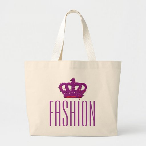 Fashion Crown Jumbo Tote Bag
