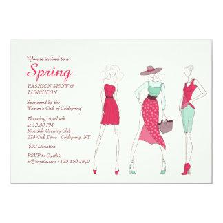 Fashion Diva Invitation