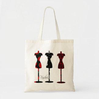 Fashion Dress Forms Canvas Bags