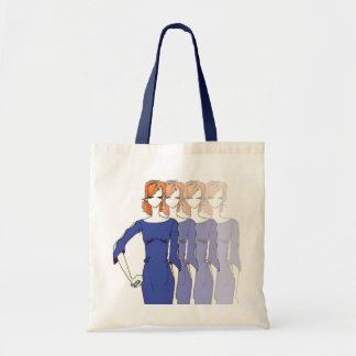 Fashion Figure tote Budget Tote Bag
