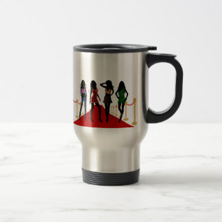 Fashion Girls on the Red Carpet Travel Mug