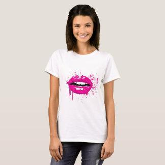 Fashion glamour trendy pink lips T-Shirt