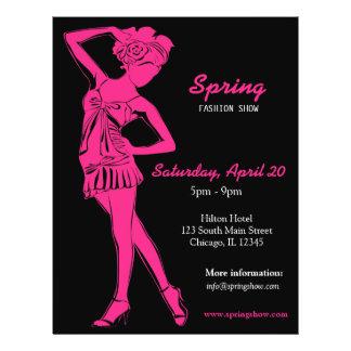 Fashion Show (Deep Pink ) 21.5 Cm X 28 Cm Flyer