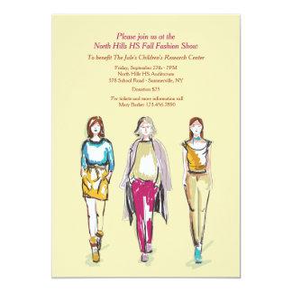 Fashion Show Invitations