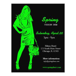 Fashion Show (Lime) 21.5 Cm X 28 Cm Flyer