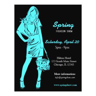 Fashion Show (Turquoise) 21.5 Cm X 28 Cm Flyer