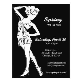 Fashion Show (White) Flyer
