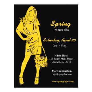 Fashion Show (Yellow) 21.5 Cm X 28 Cm Flyer