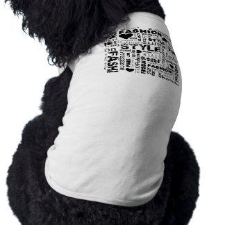 Fashion Word Collage Vector Illustration - alt Shirt