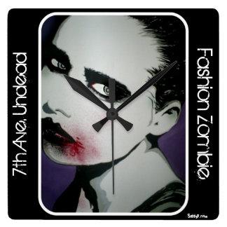 'Fashion Zombie' Wall Clock