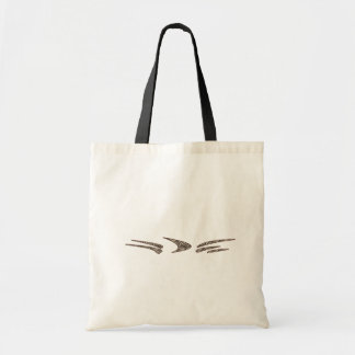 Fashionable Animal Stripe Tote Bag