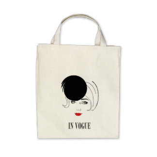 fashionable In Vogue carrying bag