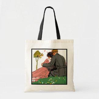 Fashionable Lovers Tote Bag