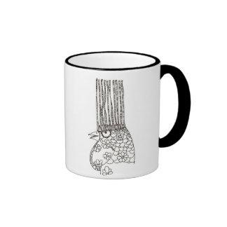Fashionable Rooster Ringer Mug