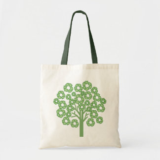 Fashionably Green Budget Tote Bag