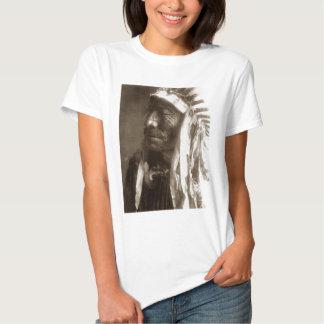 Fast Elk Hexaka Luzahan Native American Indian Tee Shirts
