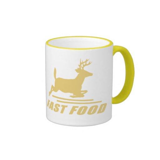 Fast Food Deer Mug