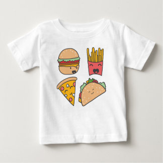 fast food friends baby T-Shirt